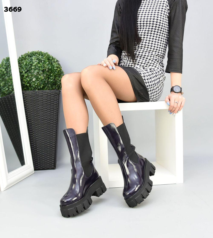 Женские зимние Ботинки в стиле Prad@ ХИТ сезона