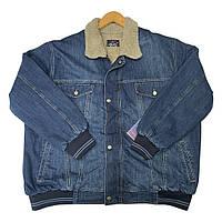 Куртка джинсова зима DEKONS Туреччина батал великих розмірів