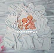 Крыжма для крещения - полотенце для крещения с рисунком ангелов