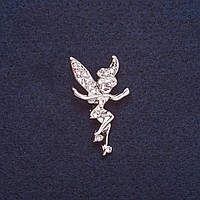 Брошка дитяча Фея Дінь Дінь з мультика красива прикраси на одяг Mir-17543