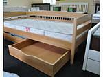 Ліжко Нота Плюс односпальне 80х190, дерев'яна, ортопедична, фото 3