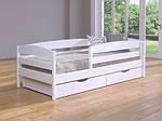 Ліжко Нота Плюс односпальне 80х190, дерев'яна, ортопедична, фото 5