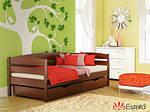 Ліжко Нота Плюс односпальне 80х190, дерев'яна, ортопедична, фото 7