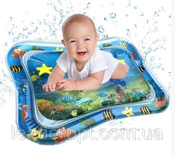 ОПТ Детский водный надувной игровой коврик Air pro inflatable water play mat