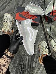Женские кроссовки Nike Air Max 720 White (белые)