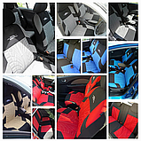 Авто чехол на авто универсальный Красного цвета материал Полиэстер накидка на авто, фото 7