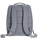 (УЦЕНКА) Рюкзак для ноутбука Xiaomi Minimalist Urban 15.6'' серый (121112), фото 4