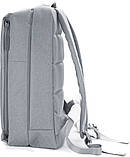 (УЦЕНКА) Рюкзак для ноутбука Xiaomi Minimalist Urban 15.6'' серый (121112), фото 5