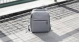 (УЦЕНКА) Рюкзак для ноутбука Xiaomi Minimalist Urban 15.6'' серый (121112), фото 6