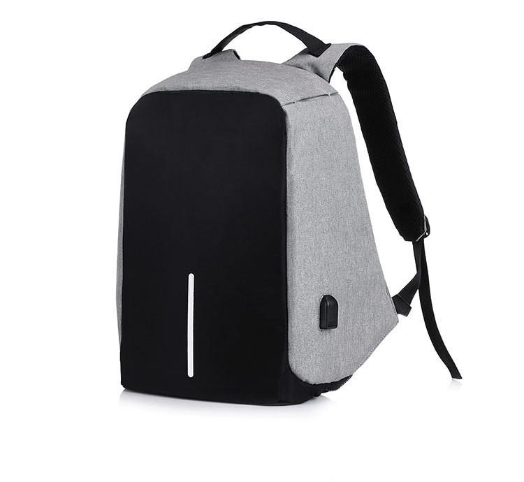"""Рюкзак Antivor 2.0 15,6"""" c защитой от карманников и с USB для зарядки Grey УЦЕНКА ( 113209 )"""