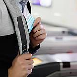 """Рюкзак Antivor 2.0 15,6"""" c защитой от карманников и с USB для зарядки Grey УЦЕНКА ( 113209 ), фото 7"""