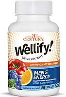 Витамины для мужчин 21st Century Wellify Men's Energy 65 таб.