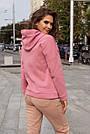 """Худі жіноче """"AZ-307"""" рожевий, фото 3"""