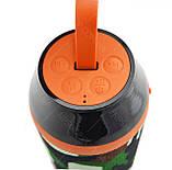 Портативная Bluetooth колонка влагостойкая T&G 104 Камуфляж УЦЕНКА (165128 ), фото 2
