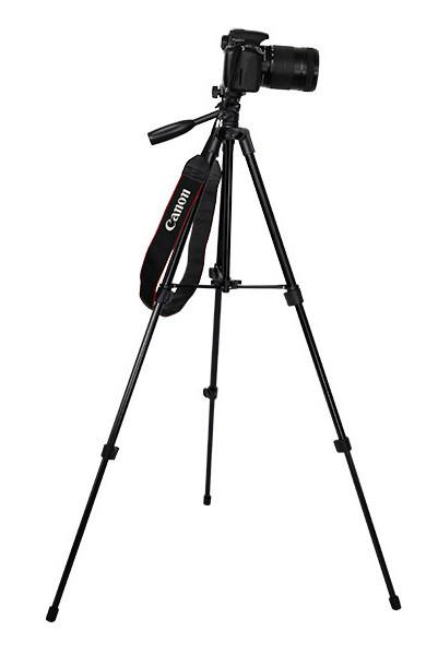 Штатив для фотоаппарата трипод A508 черный + чехол ( УЦЕНКА 173326 )