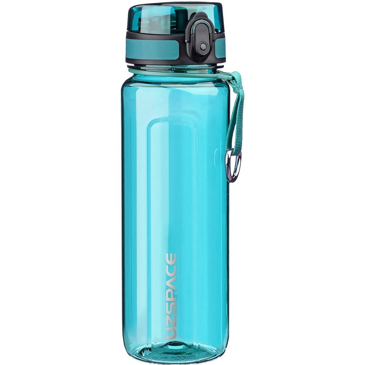 Бутылка для воды UZSPACE U-type 6019 750 мл, голубая