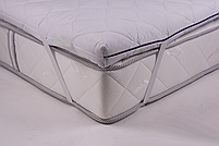 Матрас, Футон, Топер SIMPLEX (Eurosleep),  размер 160*200, высота 4 см, 4 фиксатора по углам, фото 3