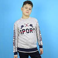 Вязаный свитер для мальчика Sport тм Corporals размер 10-11,12-13 лет