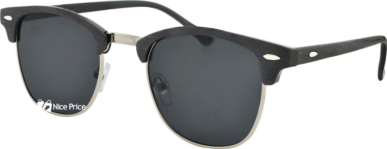 Сонцезахисні окуляри Giovanni Bros Clubmaster 3016 52-16-137 C10 Black (репліка)