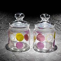 "Набор банок для сыпучих продуктов ""Jar Zoom White"" 750 мл, 2 шт."