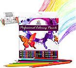 Разноцветные карандаши Vincis Secret 48 штук, фото 2