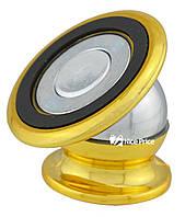 Магнітний тримач для телефону CT690 (3289) Золотий