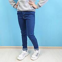 Светлые джинсы для девочки с высокой посадкой тм Cool Finish размер 11,12,13,14,15 лет, фото 1