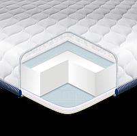 Топер - Футон, Матрас SUPER STRONG трикотаж (Eurosleep), 180*190 размер, съемный чехол, высота 6 см, 4 фиксатора по углам, фото 3