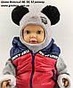 Оптом шапка детская 48 50 и 52 размер шлем люрекс ангора шапки головные уборы детские опт