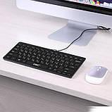 Клавиатура мини проводная UKC K1000 Черный, фото 2