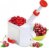 Машинка для видалення кісточок з вишень (Cherry and Olive corer) вишнечистка (2755), фото 3