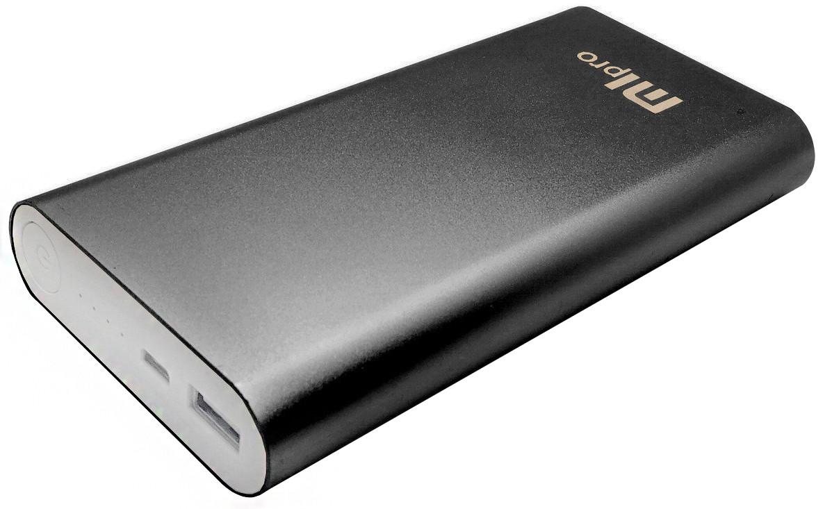 (УЦЕНКА) Внешний акумулятор УМБ Power Bank MLPro 20800 mah Черный (0002)