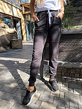 Женские спортивные штаны 406  черные, фото 3