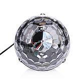 Светомузыка диско шар Magic Ball Music MP3 плеер SD-5150 (3154), фото 3