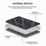 Авто чохол на авто універсальний Сірого кольору матеріал Поліестер накидка на авто, фото 4