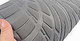 Авто чохол на авто універсальний Сірого кольору матеріал Поліестер накидка на авто, фото 7