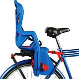Велокрісло Bellelli Pepe Італія на багажник Синє, фото 2