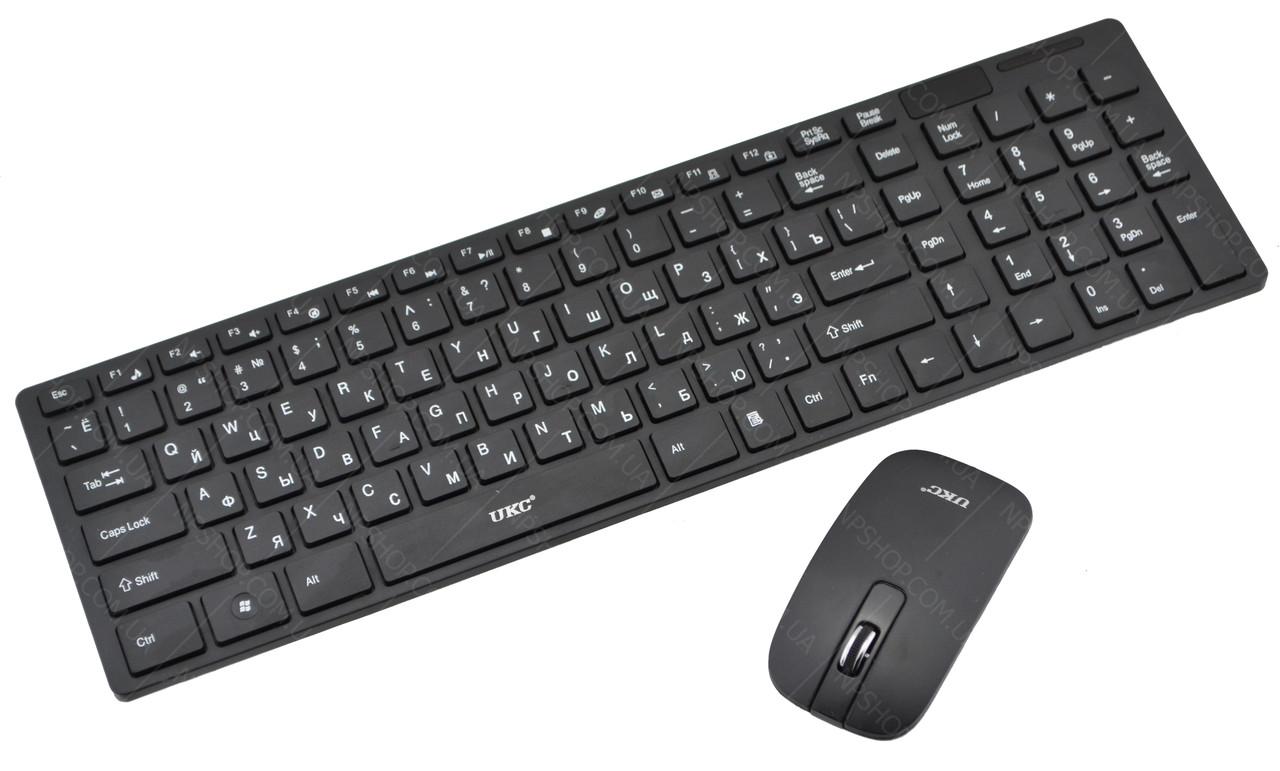 Русская беспроводная клавиатура с мышкой UKC K06 (2230)