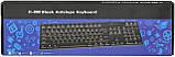 Клавиатура проводная Blaok Antelope H-880 Black (31200), фото 2