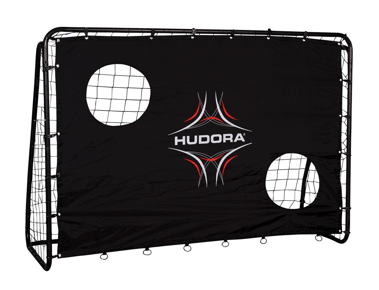 Разборные футбольные ворота с сеткой FREEKICK HUDORA 213 Х 152 см