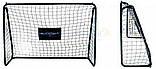 Разборные футбольные ворота с сеткой FREEKICK HUDORA 213 Х 152 см, фото 2