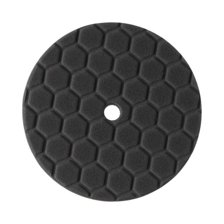 Полировальный круг Dnipro-M ULTRA шаг 3 (чорн.) 150 мм 25 мм 1 шт.