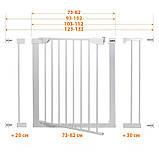 Детские ворота безопасности (межкомнатный барьер) Maxigate (123-132см), фото 6