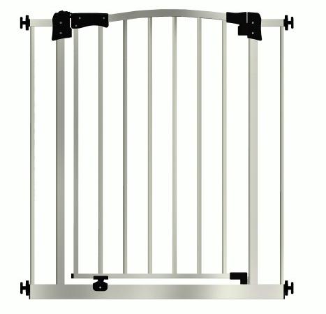 Детские ворота безопасности (межкомнатный барьер) Maxigate (93-102см) высота 107см