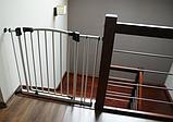 Детские ворота безопасности (межкомнатный барьер) Maxigate (93-102см) высота 107см, фото 3