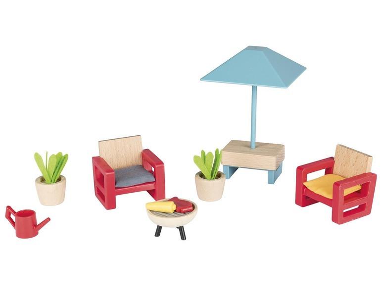 Набор мебели (садовая мебель) для кукольного дома PlayTive Junior