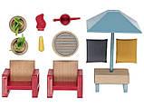 Набор мебели (садовая мебель) для кукольного дома PlayTive Junior, фото 2