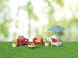 Набор мебели (садовая мебель) для кукольного дома PlayTive Junior, фото 3