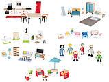 Набор мебели (садовая мебель) для кукольного дома PlayTive Junior, фото 5
