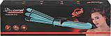 Многофункциональная плойка утюжок для волос 3в1 Gemei GM-2922 голубой (3806), фото 5